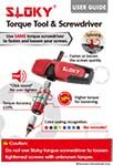 User Guide of Sloky Torque Tool and Screwdriver