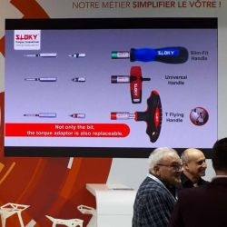 SLOKY Torque Tools were showcased by Outimat Group in SIMODED