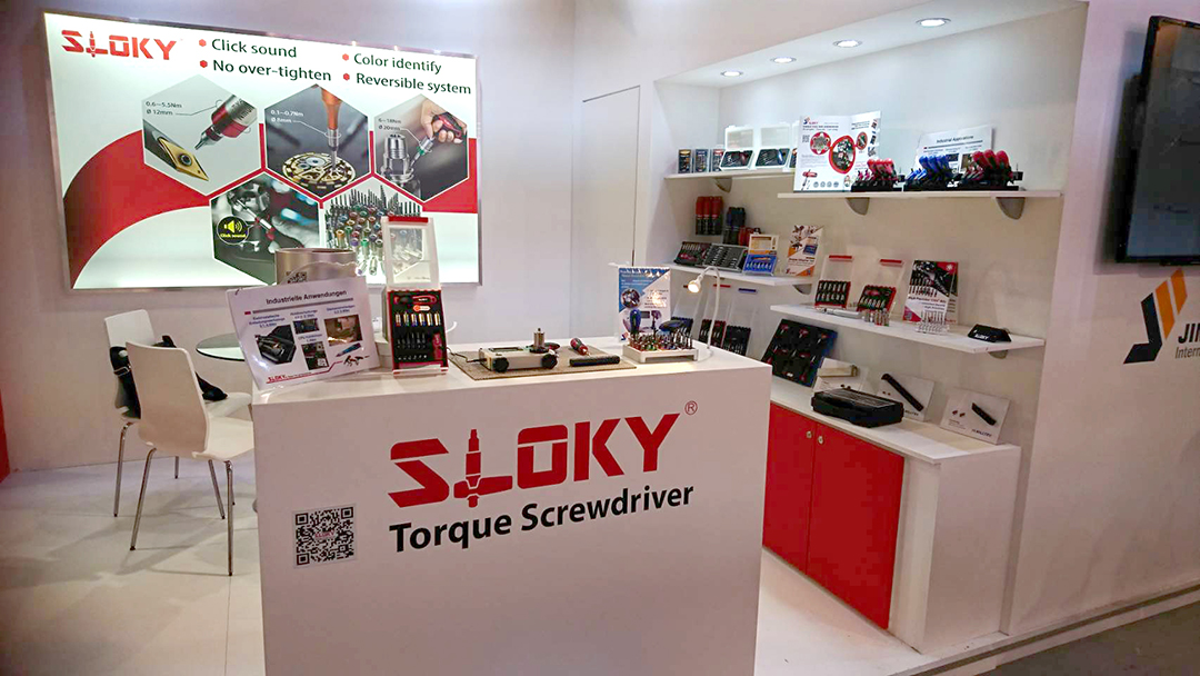 Sloky torque tool and screwdriver in 2018 AMB_Messe Stuttgart