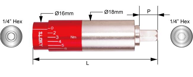 SLOKY_Adjustable Torque Adapter Spec