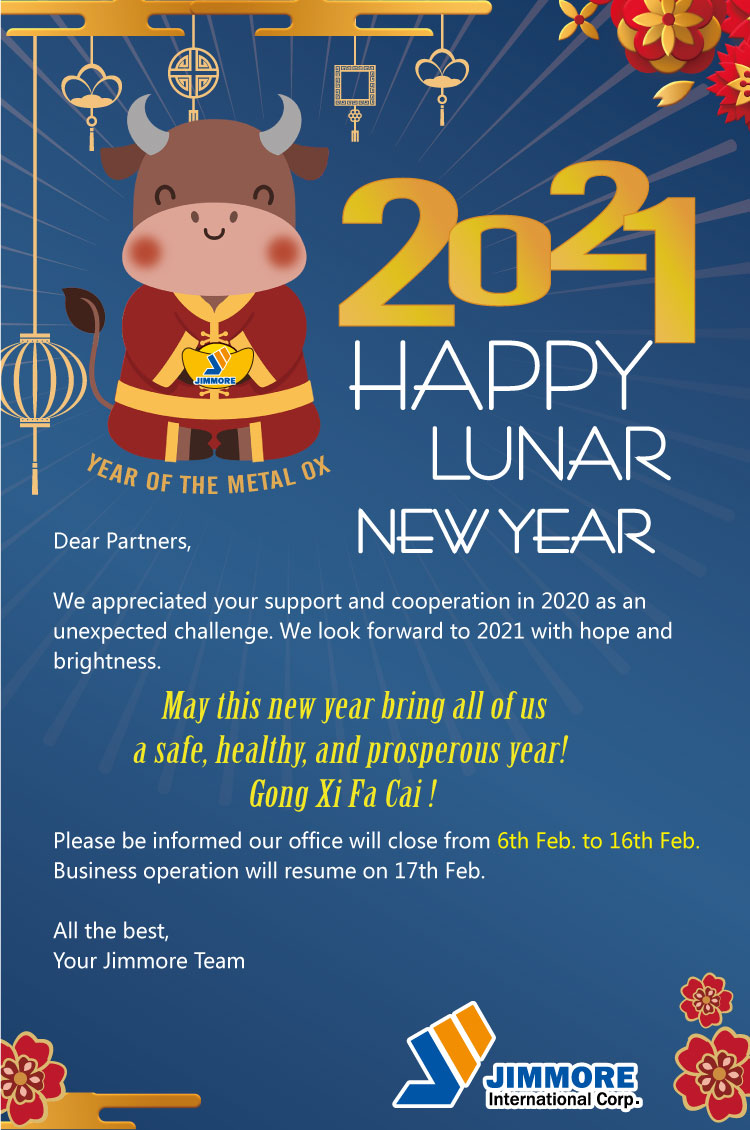 2021 Lunar New Year Holiday_Metal Ox_Sloky