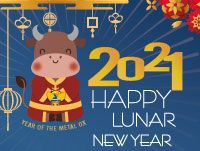 2021 Happy Lunar New Year