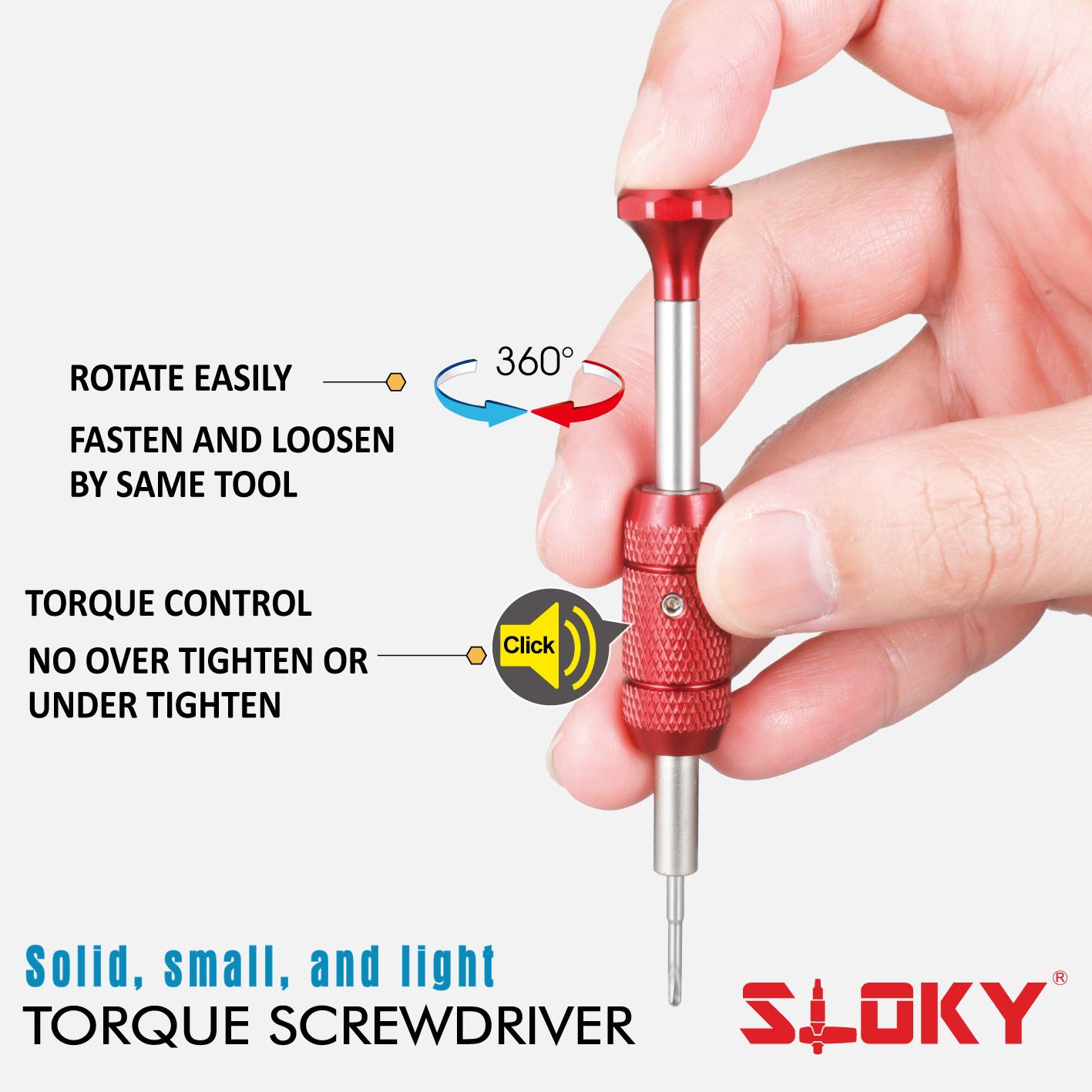 SLOKY Watch Torque Screwdriver_Torque Control