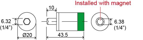 Sloky_Extend torque adapter_TPK-ETA